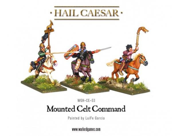 Hail Caesar: Celts: Mounted Celt Command