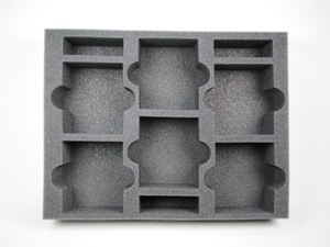 "Battlefoam: Warhammer: Tray: Movement Tray Holder 3 (4"")"