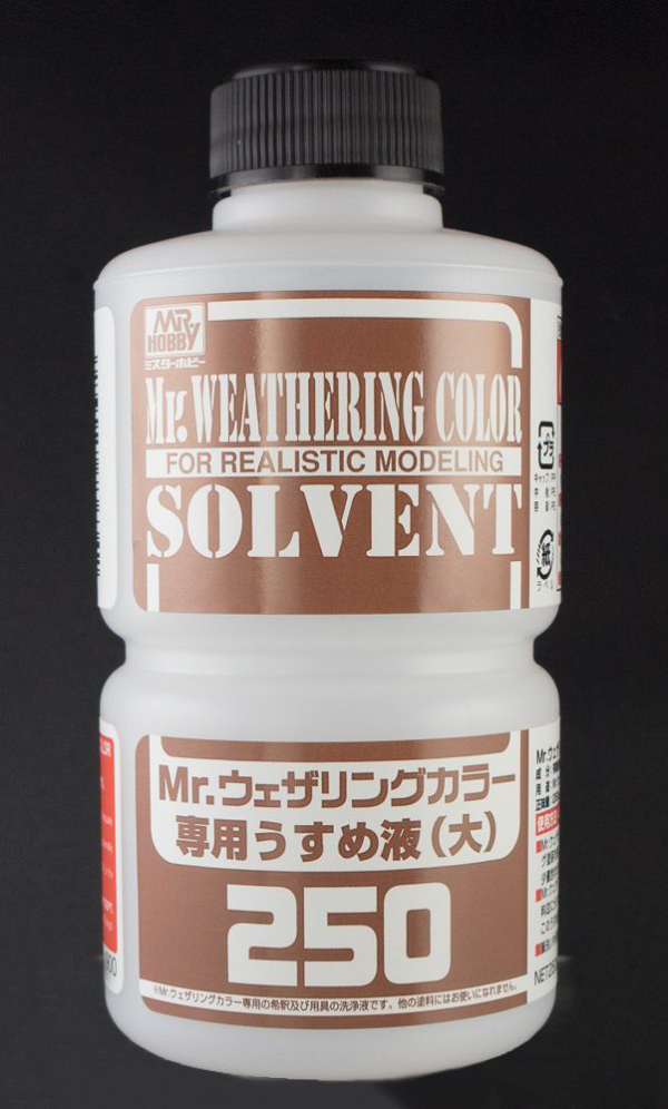 Mr. Weathering Color Solvent (250ml)