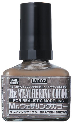 Mr. Weathering Color WC07: Grayish Brown