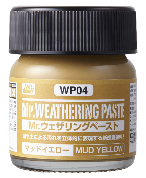 Mr. Weathering Paste WP04: Mud Yellow