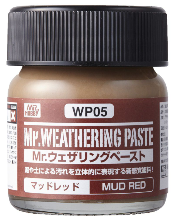Mr. Weathering Paste WP05: Mud Red