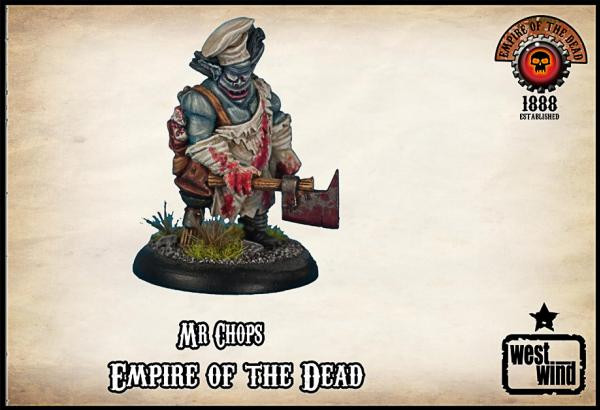 Empire of the Dead: Mr Chops, The Demon Butcher