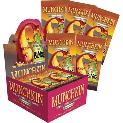 Munchkin CCG: Season 2 Desolation of Blarg (SALE)