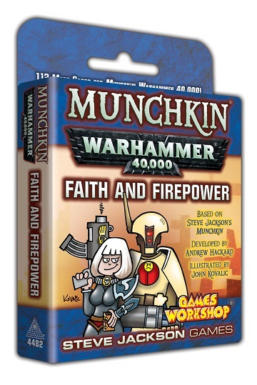 Munchkin: Warhammer 40K - Faith and Firepower