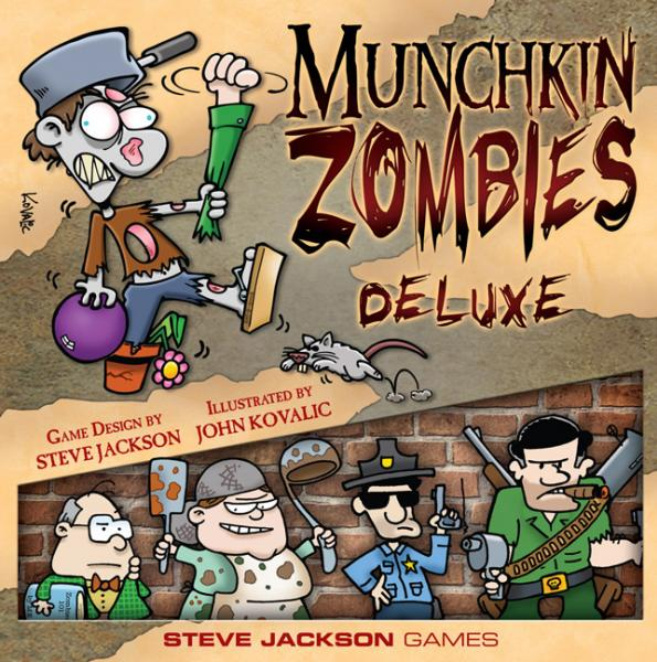 Munchkin Zombies Deluxe [Damaged]
