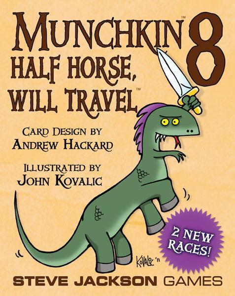 Munchkin: 8- Half Horse, Will Travel [Damaged]