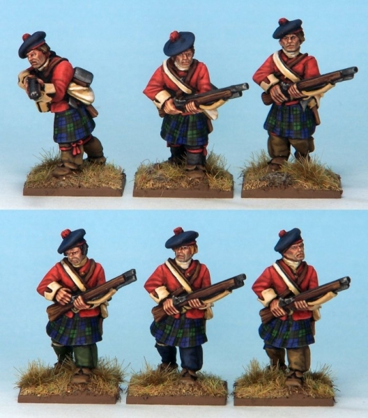 Muskets and Tomahawks: British Highland Light Infantry