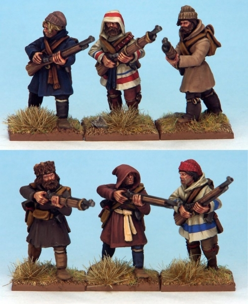 Muskets and Tomahawks: French Canadian Militia #1