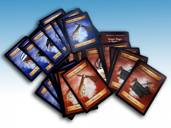 Muskets and Tomahawks: Redcoats and Tomahawks Card Deck