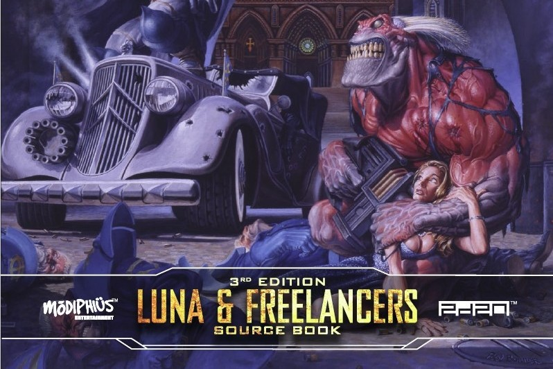 Mutant Chronicles: Luna & Freelancers Guidebook