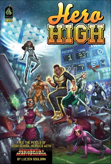 Mutants & Masterminds: HERO HIGH (SC REVISED)