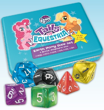 My Little Pony Tails of Equestria: Earth Pony Dice Set