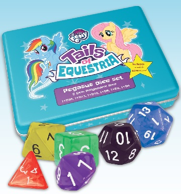 My Little Pony Tails of Equestria: Pegasus Dice Set