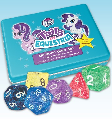 My Little Pony Tails of Equestria: Unicorn Dice Set