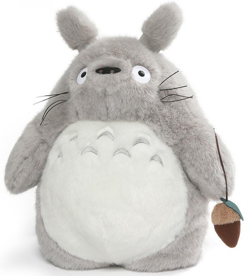 "My Neighbor Totoro: 15.5"" Gray Totoro Plush Backpack"