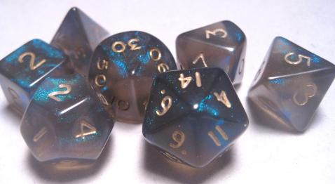 Mystic Keeper Dice: Dragonfire Green Polyhedral Set (7)