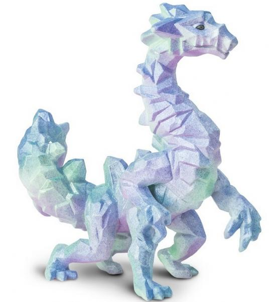Mythical Realms: Crystal Cavern Dragon