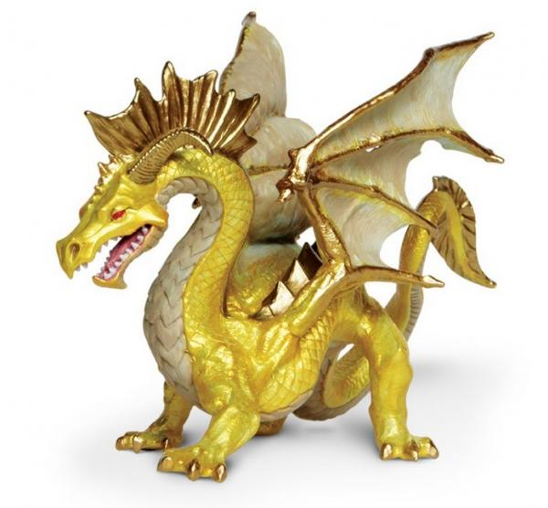 Mythical Realms: Golden Dragon