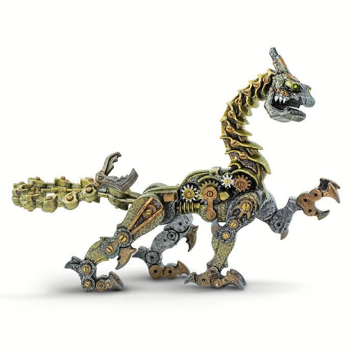 Mythical Realms: Steampunk Dragon