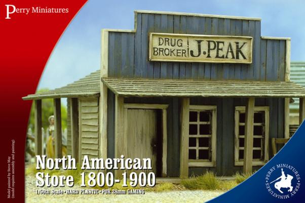 Perry: 28mm American Civil War: North American Store 1800-1900