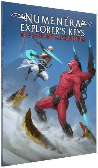 Numenera Explorers Keys: Ten Instant Adventures