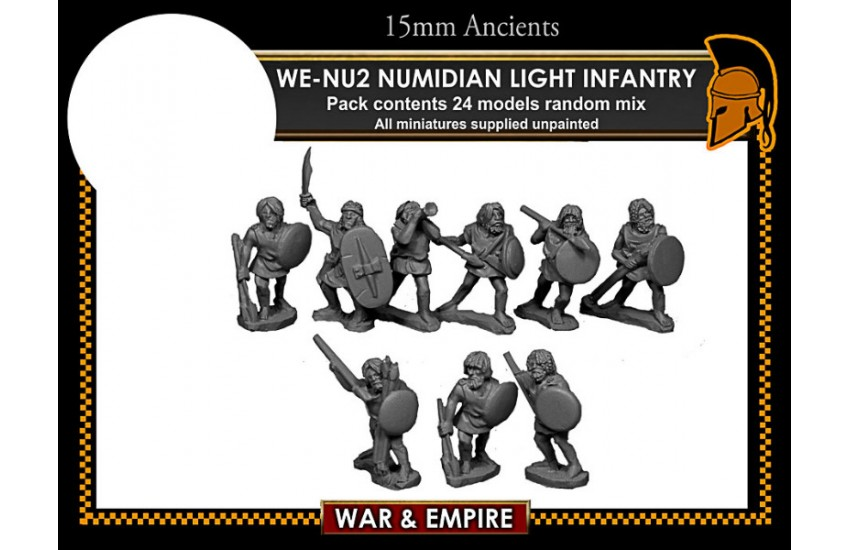Numidian: Light Infantry