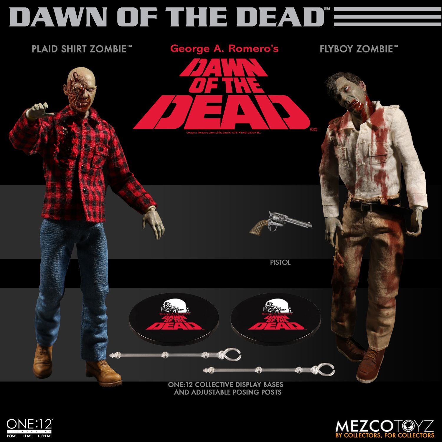 ONE:12 DAWN OF THE DEAD 2 PACK