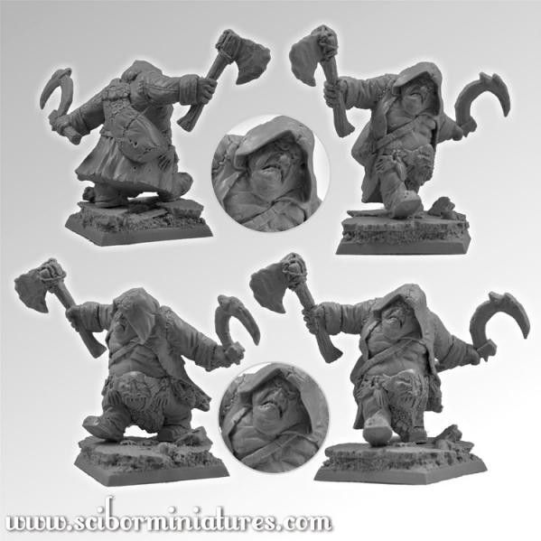 Scibor Monstrous Miniatures: Ogre Ripper