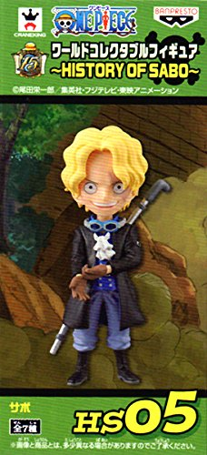 One Piece World Collectable Figure Set 3: The History of Sabo: #5 Sabo
