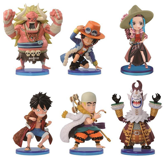 One Piece World: Collectible Figure Series Volume 2: Portgas D. Ace