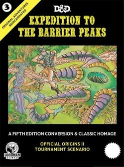 goodman games original adventures reincarnated 3 expedition barrier peaks gmg50003