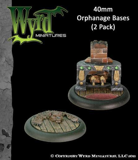 Malifaux: Base Inserts - Orphanage - 40mm