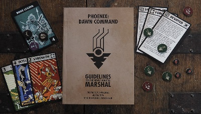 PHOENIX: DAWN COMMAND RPG STARTER