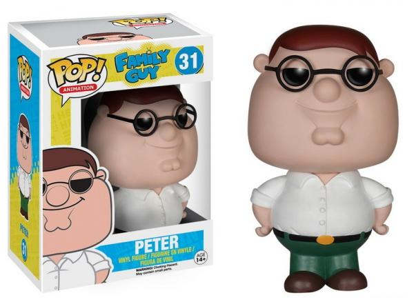 POP! Animation 031: Family Guy- Peter