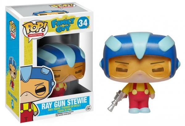 POP! Animation 034: Family Guy- Ray Gun Stewie