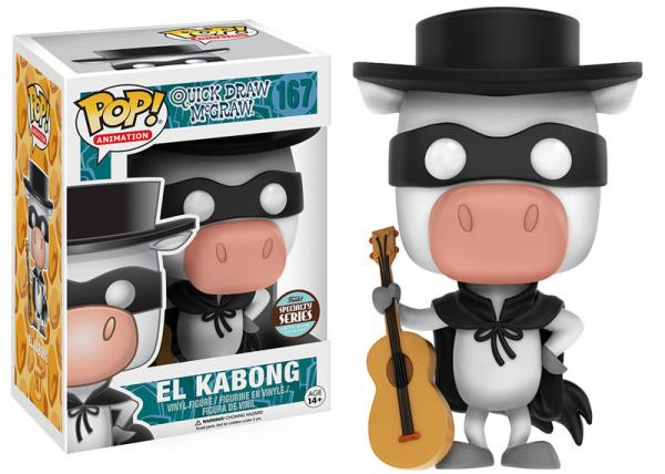 POP! Animation 167: Hana-Barbera- Quick Draw McGraw- El Kabong (Specialty Series)