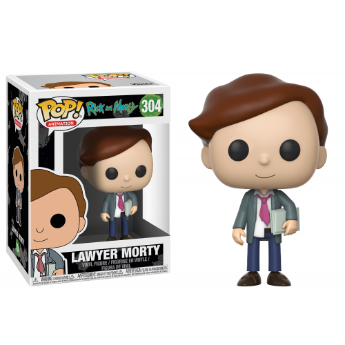 POP! Animation 304: Rick and Morty- Lawyer Morty