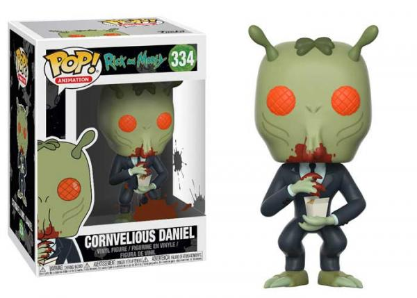 POP! Animation 334: Rick and Morty- Cornvelious Daniel