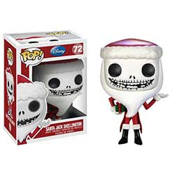 POP! Disney 072: The Nightmare Before Christmas- Jack Skellington (Santa)