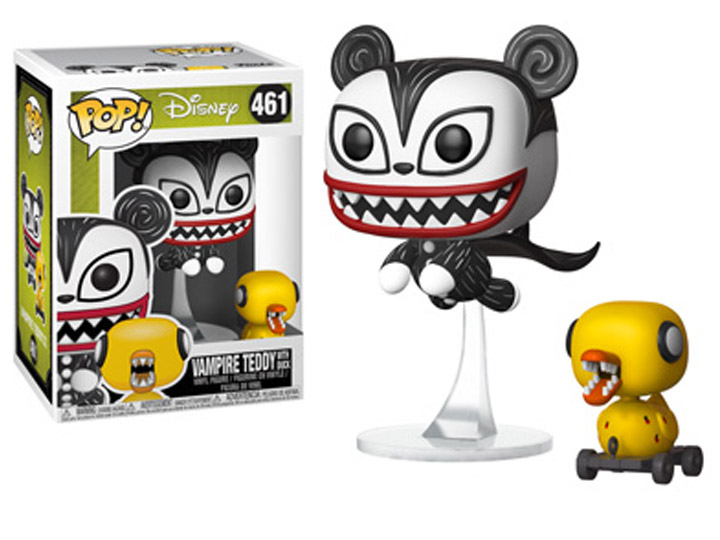 POP! Disney #461 The Nightmare Before Christmas- Vampire Teddy with Undead Duck