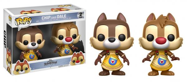 POP! Disney: Kingdom Hearts- Chip and Dale (2 Pack)