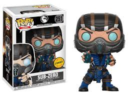 POP! Games 251: Mortal Kombat- Sub-Zero [CHASE]