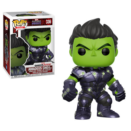 POP! Games 336: Marvel Future Fight- Amadeus Cho As Hulk