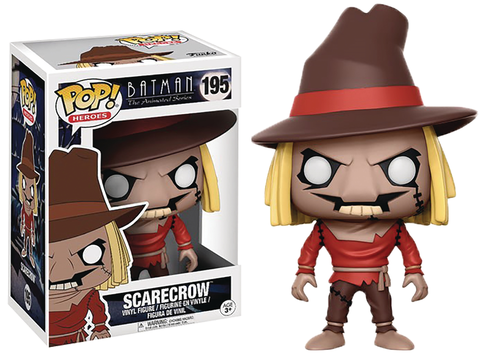 POP! Heroes 195: Batman The Animated Series- Scarecrow