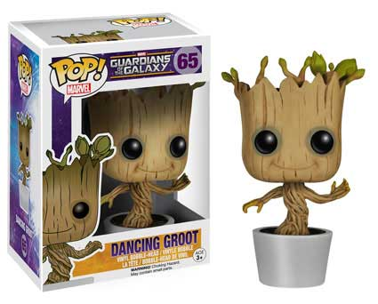 POP! Marvel 065: Guardians of the Galaxy: Dancing Groot