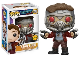 POP! Marvel 198: Guardians of the Galaxy Vol. 2: Star-Lord [CHASE]
