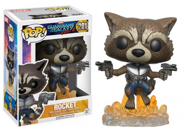 POP! Marvel 201: Guardians of the Galaxy Vol. 2: Rocket