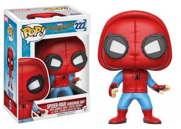 POP! Marvel 222: Spiderman Homecoming- Spiderman Homemade Suit