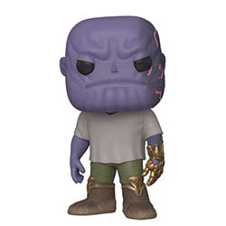 POP! Marvel: Endgame: Casual Thanos w Gauntlet
